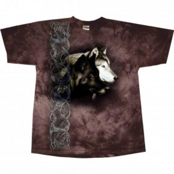 """Футболка """"Observing Wolf"""" купить в интернет магазине конной амуниции"""