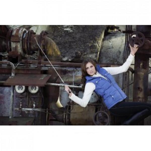 Жилет женский Nizza, пуховик голубой - S купить в интернет магазине конной амуниции