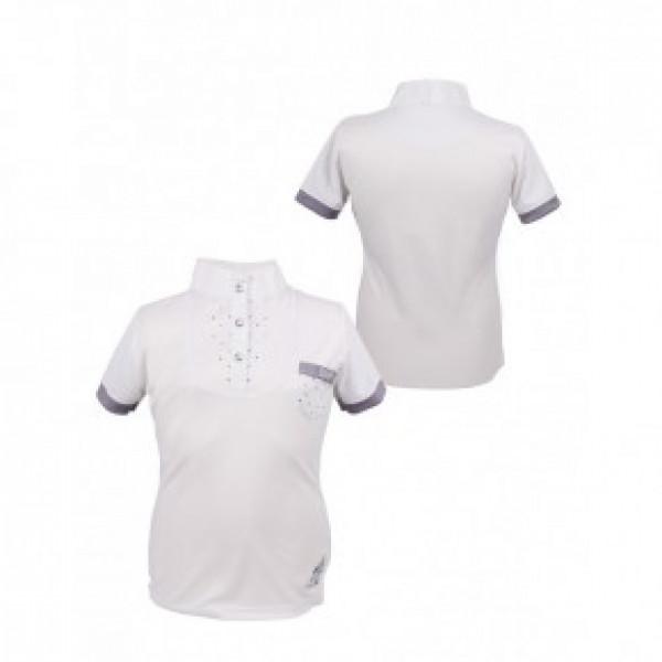 """Рубашка турнирная""""Pearl""""детская, QHP купить в интернет магазине конной амуниции"""